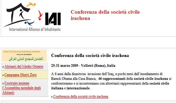 Conferenza della società civile irachena
