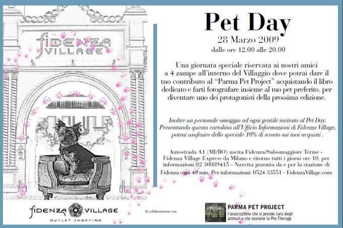 Fidenza Village si festeggia il Pet Day!