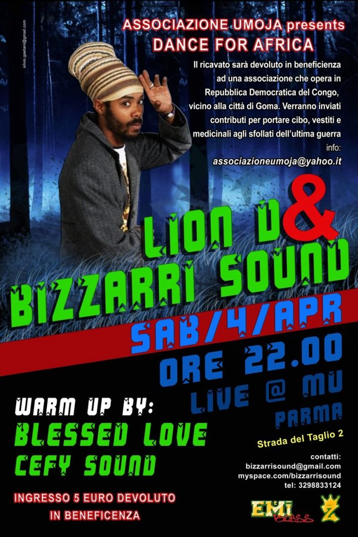 Lion D e dei Bizzarri Sound