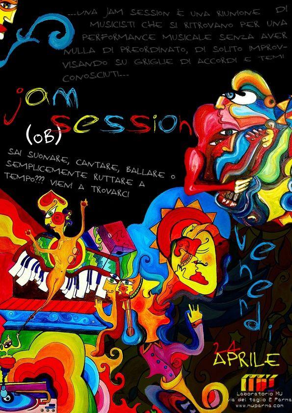 Venerdì 24 aprile jam session al Mu, in via del Taglio 2. Una jam session è una riunione di musicisti che si ritrovano per una performance musicale senza aver nulla di preordinato, di solito improvvisando su griglie di accordi e temi conosciuti. Tutti i musicisti e gli appassionati di musica sono invitati a partecipare. Lo staff mette a disposizione amplificatori e batteria. L'evento è parte del progetto VenerdìMu!, una serie di serate organizzate da un gruppo di studenti universitari, all'insegna della buona compagnia e della buona musica. Inizio serata ore 21.30. Ingresso gratuito.