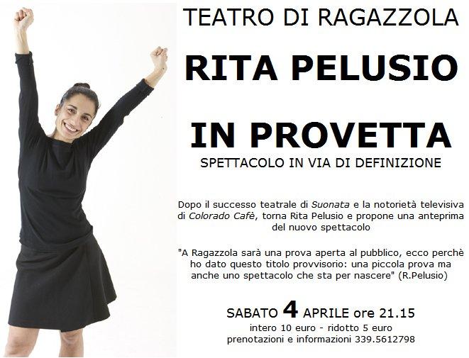 TEATRO DI RAGAZZOLA, RITA PELUSIO, IN PROVETTA