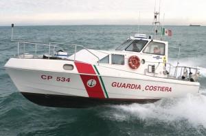 """Un mezzo della Capitaneria di porto - Guardia Costiera """" click qui per immagine ingrandita """""""
