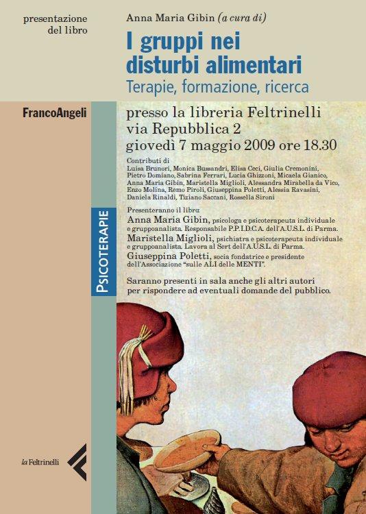 """presentazione del libro  curato da Anna Maria Gibin sui """"disturbi alimentari"""""""