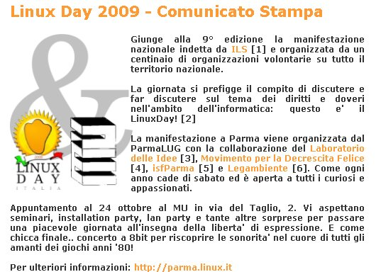 Linux Day a Parma