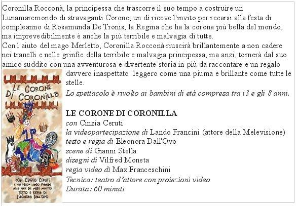 LE CORONE DI CORONILLA