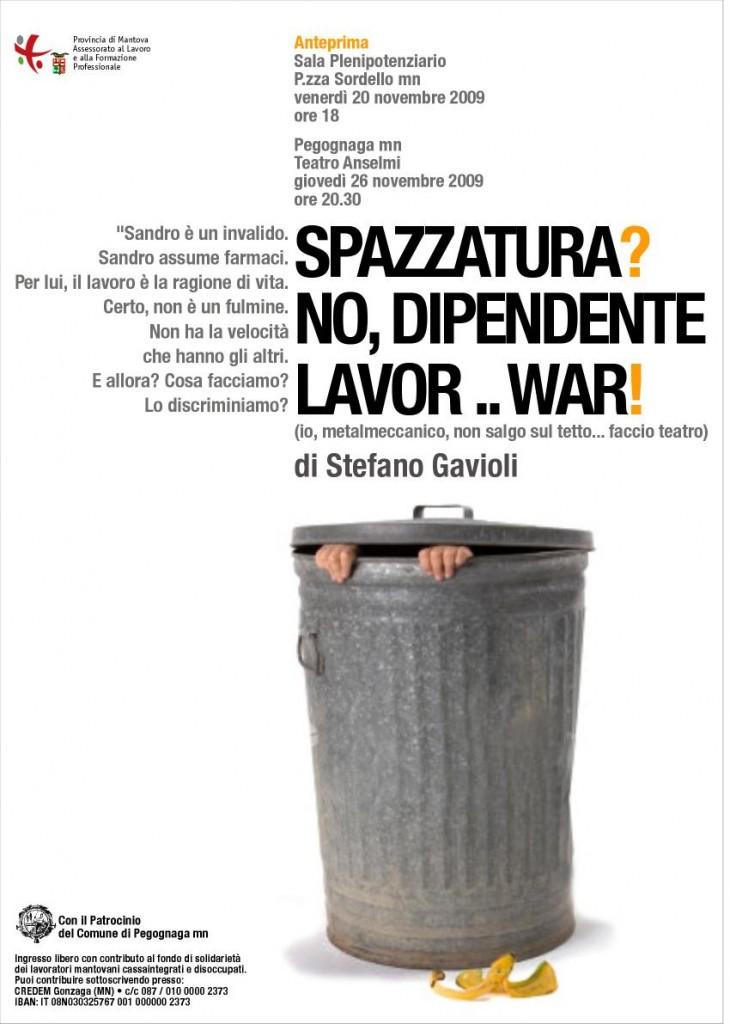 locandina di Stefano Gavioli