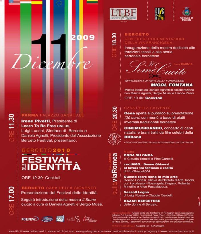 Berceto, Festival delle Identità