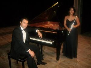 """""""Gocce di memoria"""" a Traversetolo, Rita Terenziani al flauto e Gian Luca Faccini al pianoforte"""