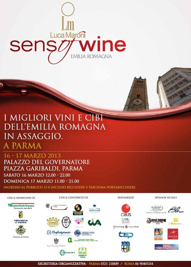 """Parma ospita la manifestazione enogastronomica """"SensofWine"""""""