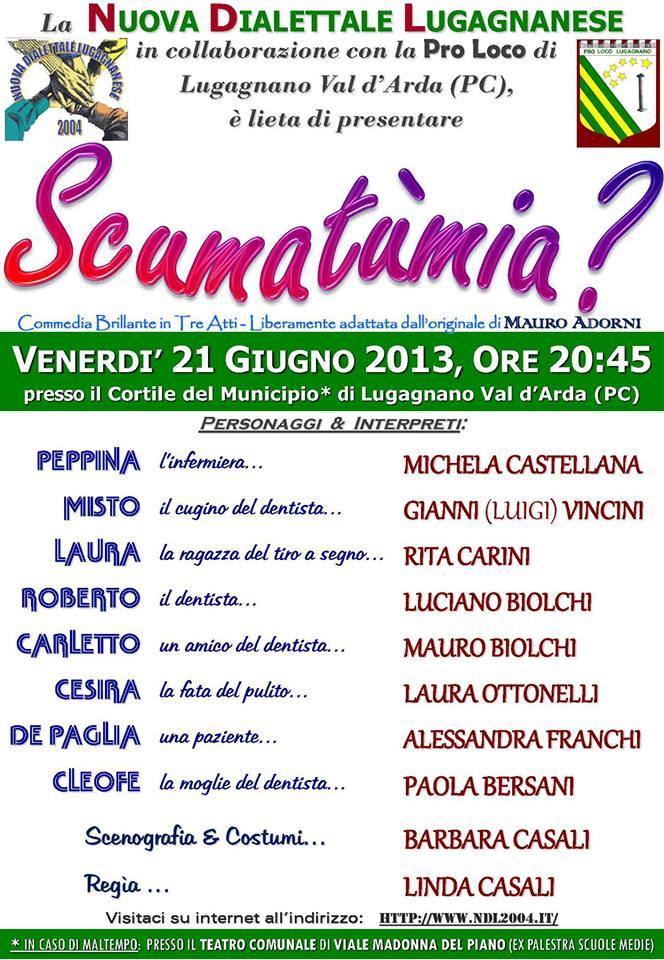 Nuova commedia NDL sabato 21/06/2013 a Lugagnano…!