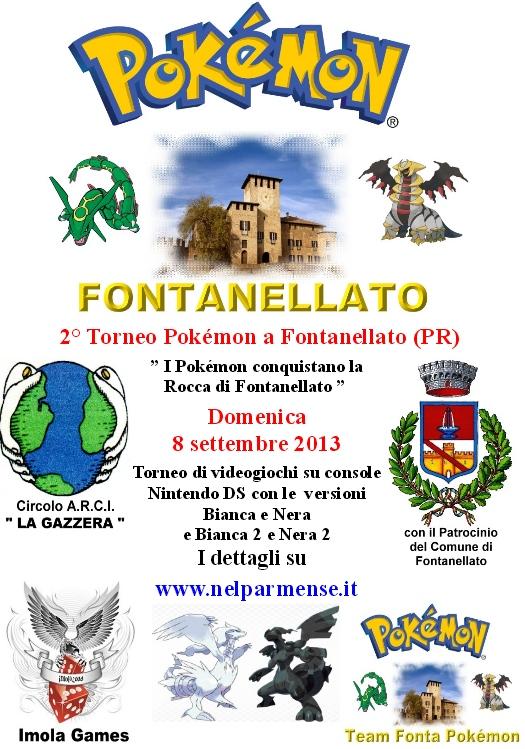 2° Torneo Pokemon Fontanellato (Parma) 2013