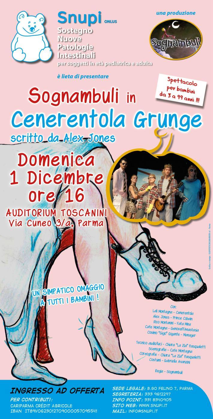 SNUPI e Sognambuli: 1 dicembre auditorium Toscanini