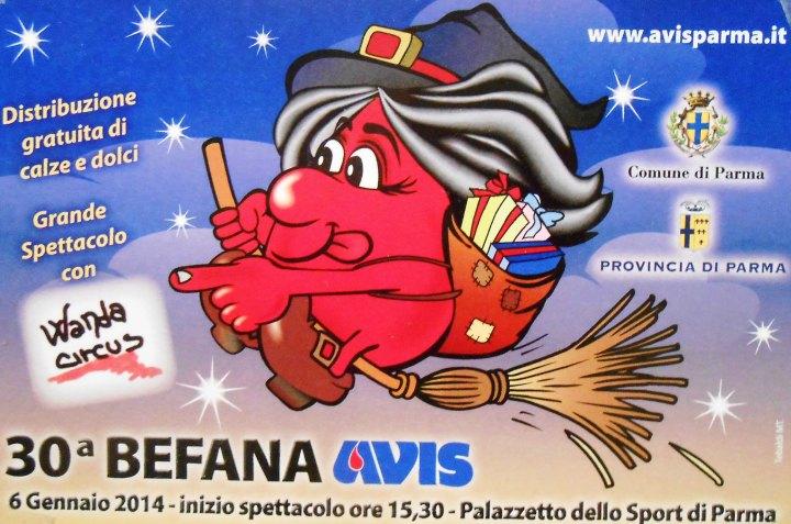 Avis Parma Befana 2014