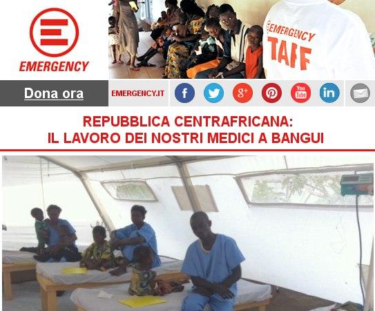 REPUBBLICA CENTRAFRICANA: IL LAVORO DEI NOSTRI MEDICI A BANGUI