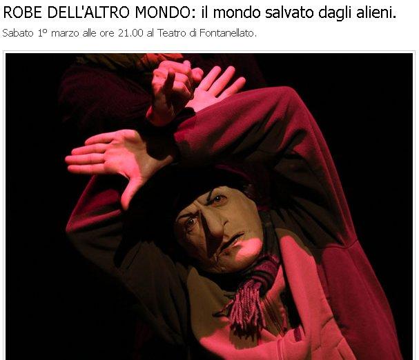 ROBE DELL'ALTRO MONDO: il mondo salvato dagli alieni.