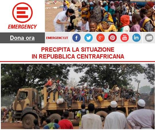 PRECIPITA LA SITUAZIONE IN REPUBBLICA CENTRAFRICANA
