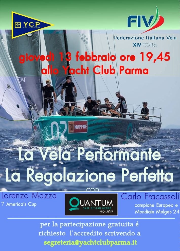 La Vela Performante allo Yacht Club Parma