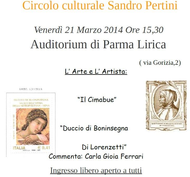 """""""Il Cimabue, Duccio di Boninsegna, Di Lorenzetti"""""""