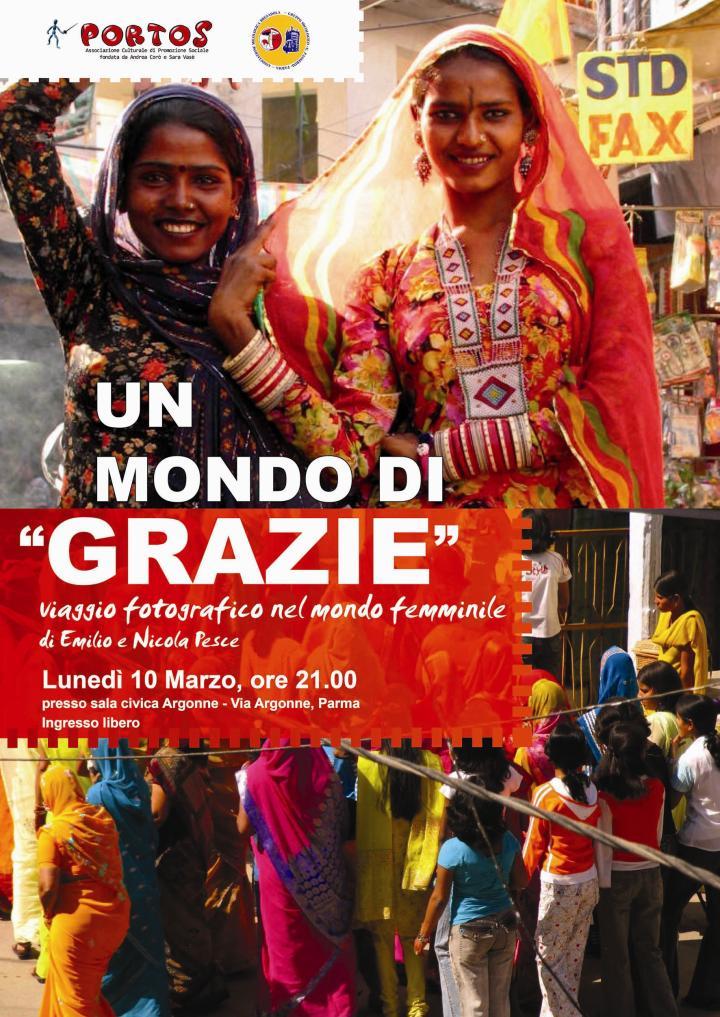 """UN MONDO DI """"GRAZIE"""": viaggio fotografico nel mondo femminile di Emilio e Nicola Pesce"""