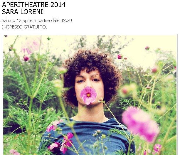 APERITHEATRE 2014 SARA LORENI