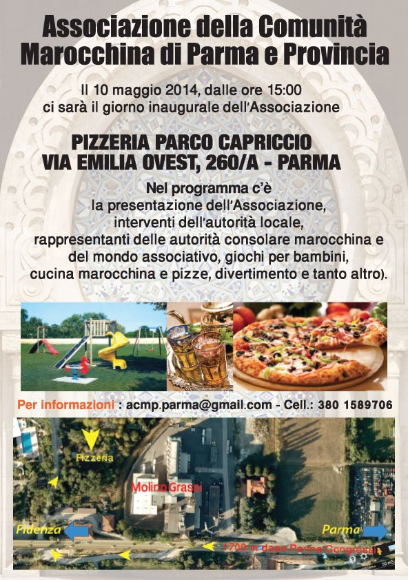 Nasce l'Associazione Comunità marocchina di Parma