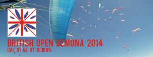 British Open di volo libero a Gemona del Friuli (Udine)