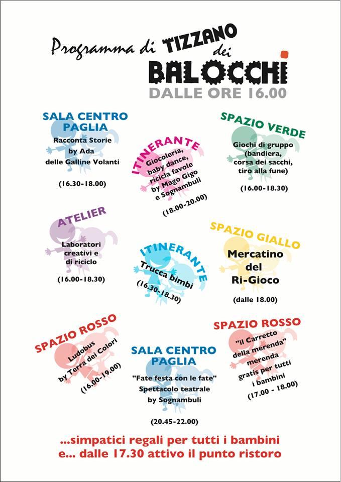 I Sognambuli non vanno ancora in vacanza e domenica 27 luglio dalle 16.00 circa del pomeriggio saranno ospiti a Tizzano dei Balocchi