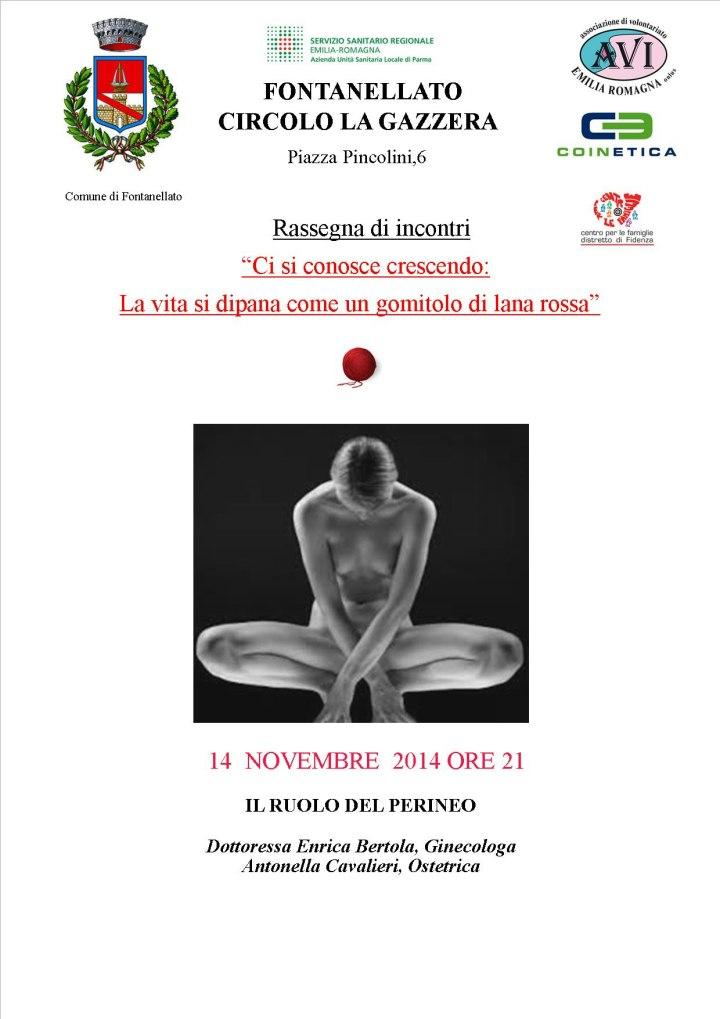 """Una serata pubblica promossa dall'AVI """" il ruolo del perineo"""""""