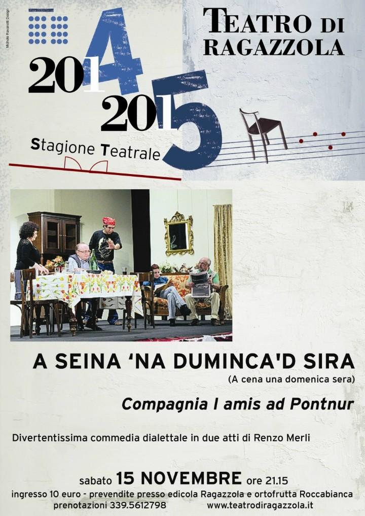 """""""A seina 'na duminca 'd sira"""""""