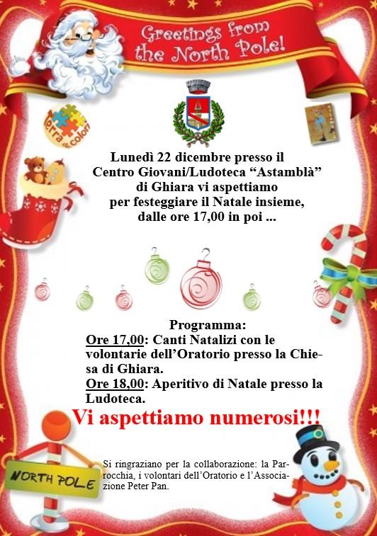 Festa di Natale Astamblà a Fontanellato
