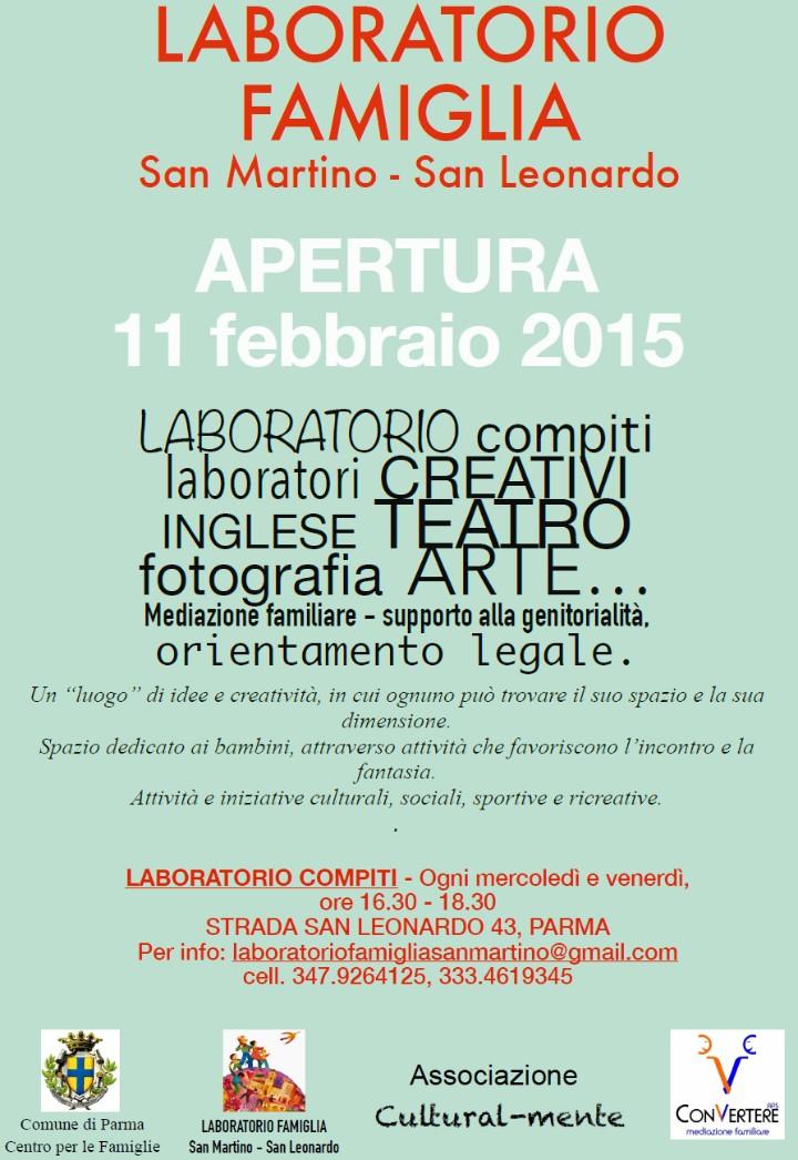 """Associazione LiberaMente - Capofila """"Progetto Laboratorio compiti"""""""