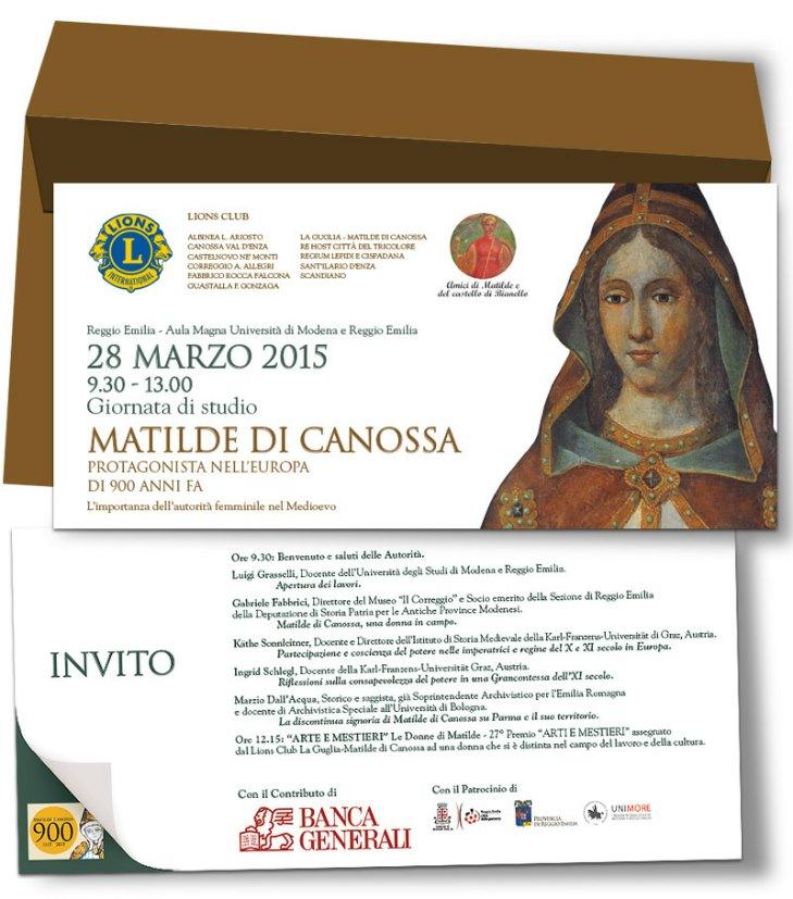 Convegno Matilde di Canossa