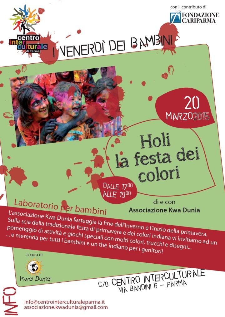 Il Centro Interculturale di Parma dedica il venerdì pomeriggio ai piccoli e alle loro famiglie.