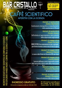 Parma, Caffè scientifico - Aperitivi con la scienza