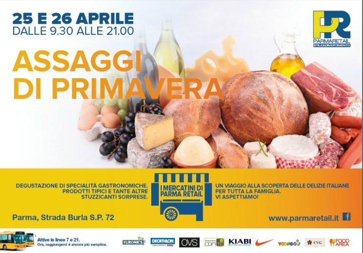 Mercatini enogastronomici a Parma Retail_25 e 26 aprile