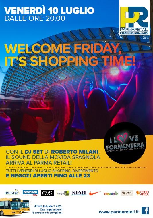 I suoni di Formentera a Parma Retail
