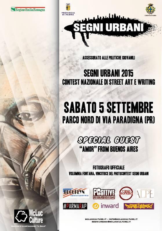 Segni Urbani Concorso Nazionale di Street Art e Writing a Parma