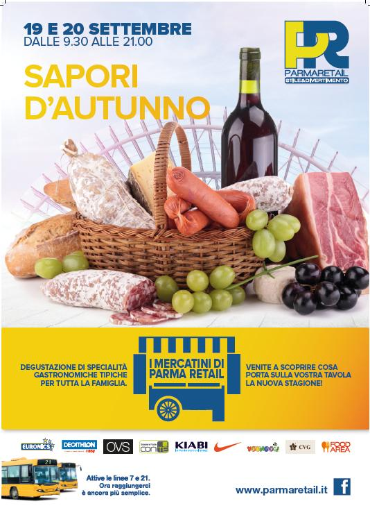 I Mercatini d'Autunno a Parma Retail