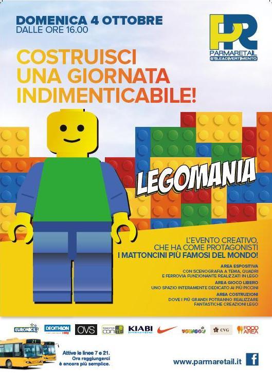 Legomania a Parma Retail
