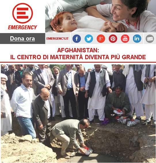 Afghanistan: il Centro di maternità diventa più grande