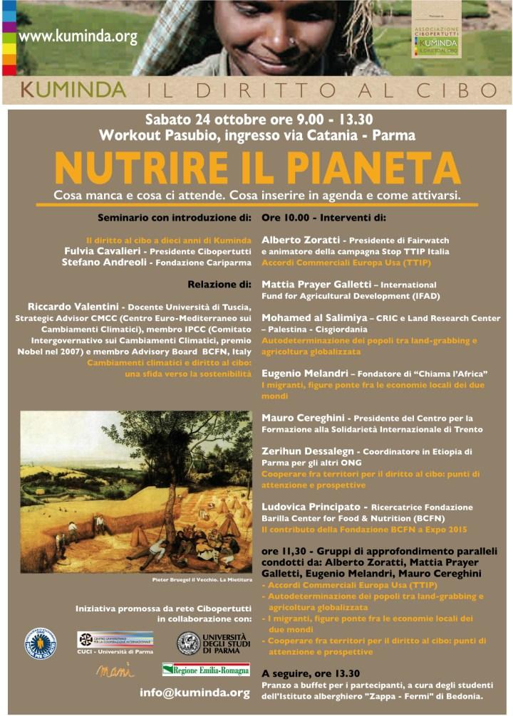 Nutrire il pianeta: il seminario di KUMINDA