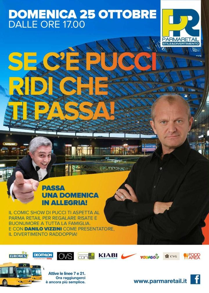 Pucci a Parma Retail_domenica 25 ottobre