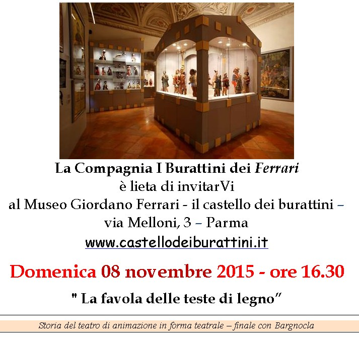 Museo Giordano Ferrari il castello dei burattini