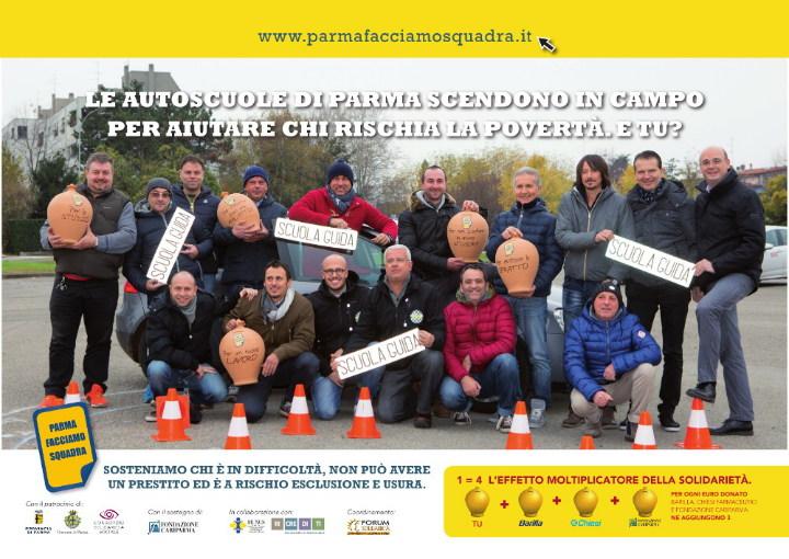 Le Autoscuole per Parma facciamo Squadra
