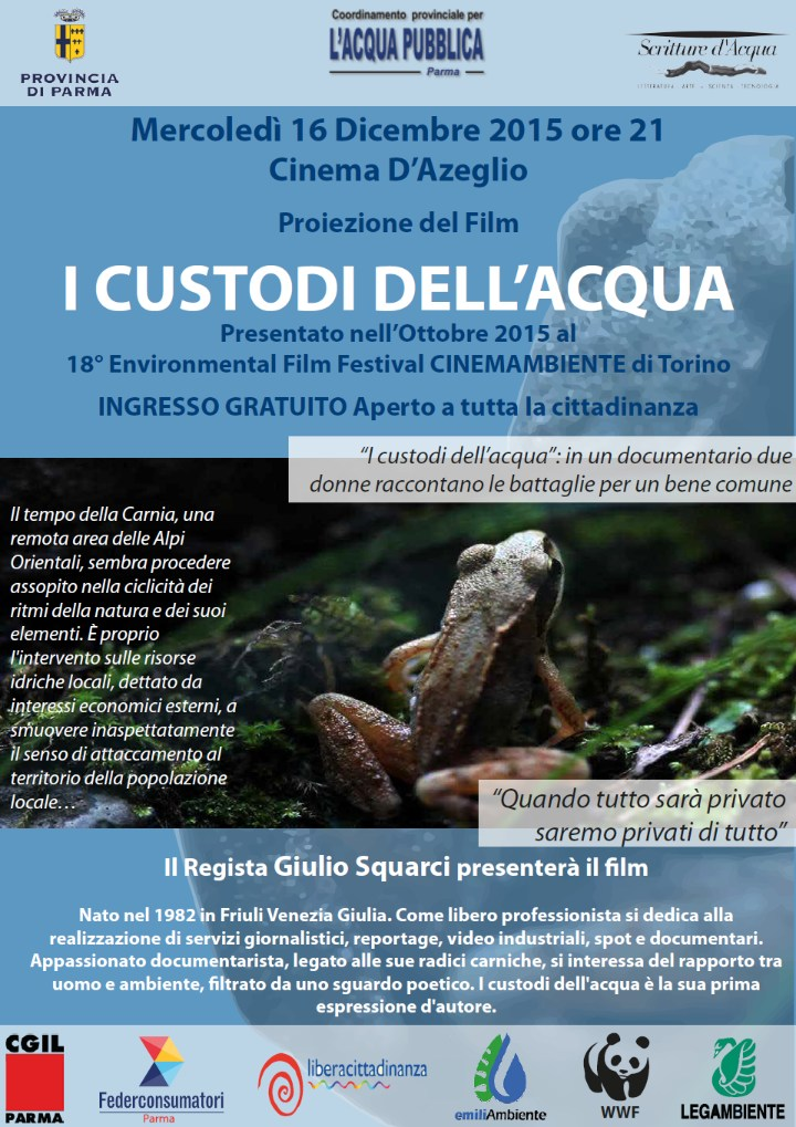 Film: i custodi dell'acqua