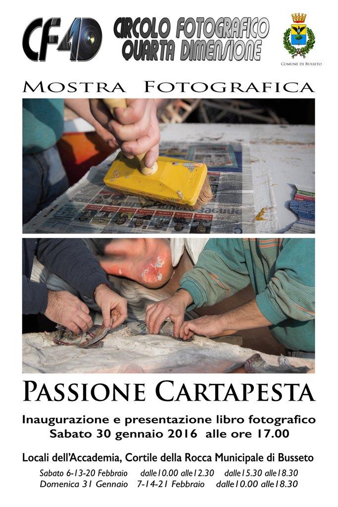 CF4D: Passione Cartapesta Mostra e presentazione libro