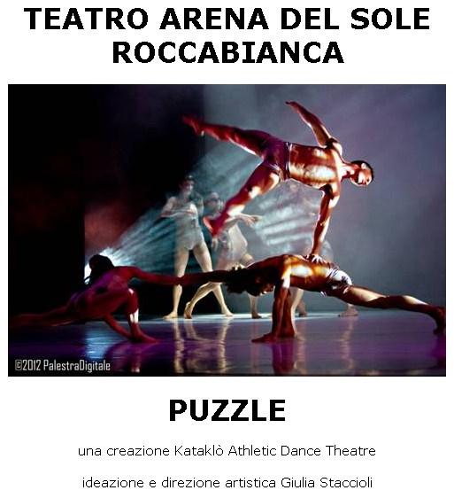 PUZZLE - Kataklò Athletic Dance Theatre - Teatro Arena del Sole Roccabianca sabato 23 gennaio
