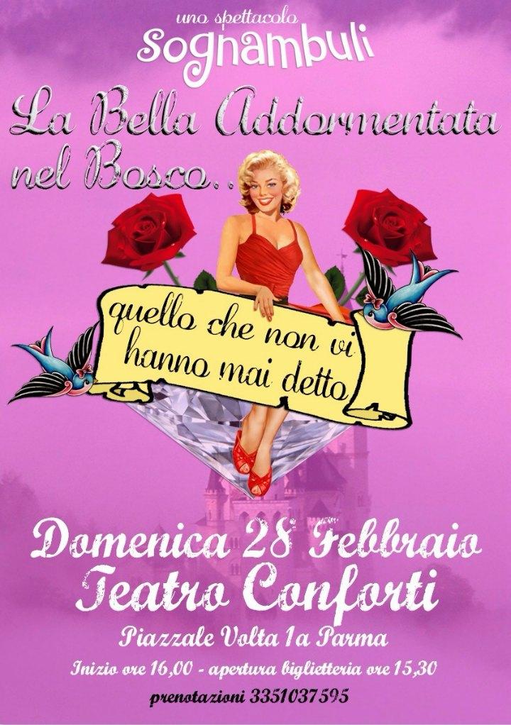 La Bella Addormentata: domenica 28 febbraio Teatro Conforti