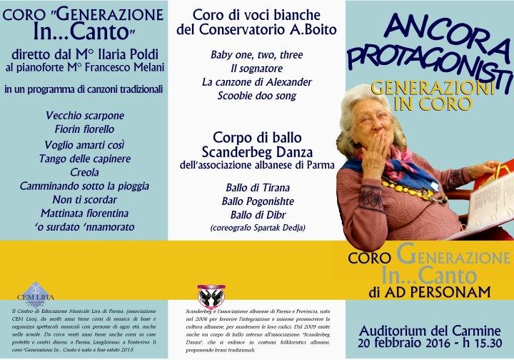 Concerto anziani di AdPersonam al Conservatorio