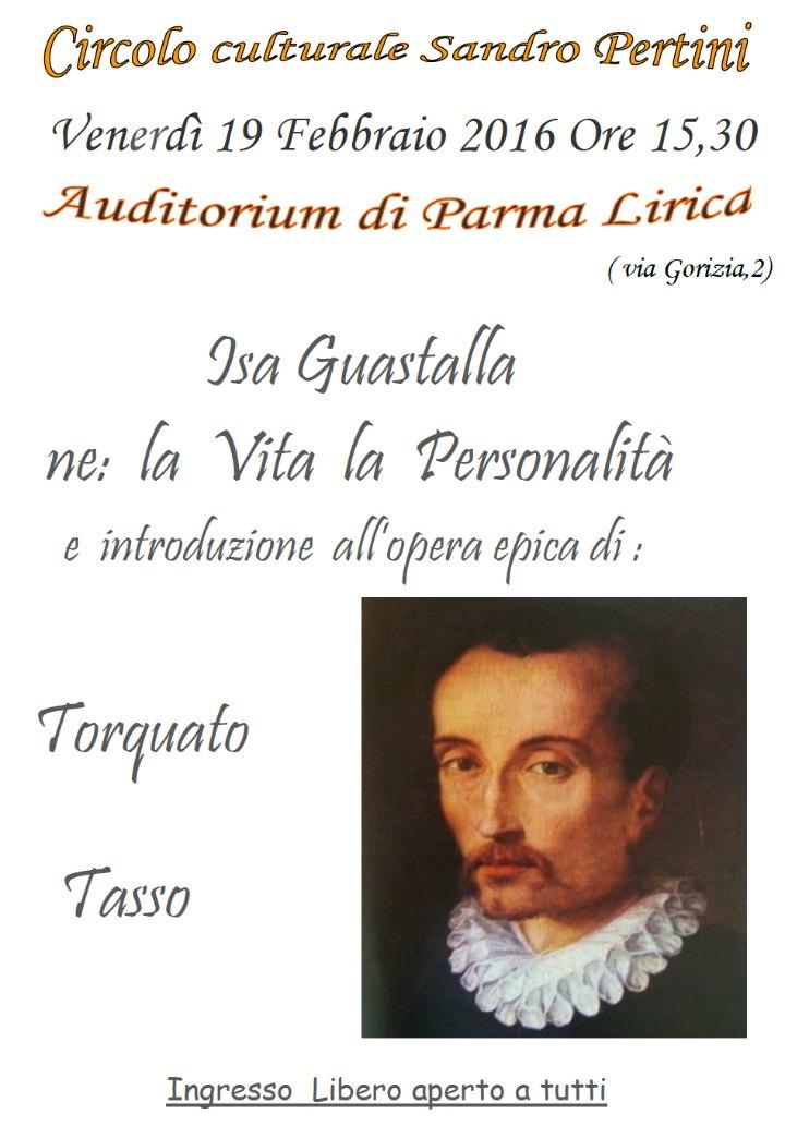 La Vita, la Personalità e introduzione all'opera epica di TORQUATO TASSO